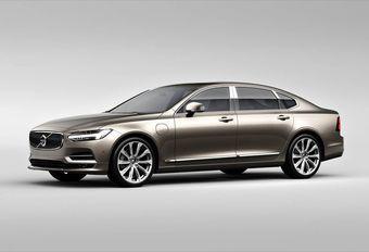 Volvo S90: productie in China en Excellence-versie #1