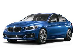 BMW : une berline Série 1 juste pour la Chine !  #1