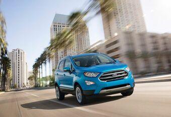 Ford EcoSport : lifting extérieur et intérieur  #1