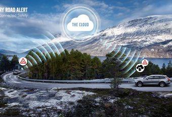 Volvo waarschuwt voor gladde wegen #1