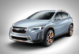 Subaru XV: een boxerhybride? #1