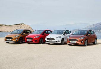 Ford Fiesta : 4 versions #1