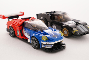 Ford GT-racewagens in Lego Speed Champions-reeks #1