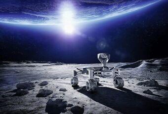 Audi vise la Lune avec le Lunar Quattro #1