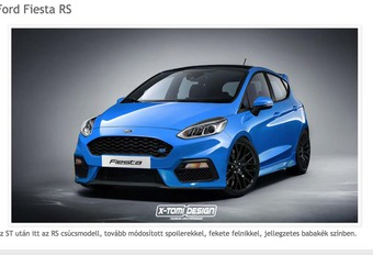 Ford Fiesta : Enfin aussi en RS ? #1