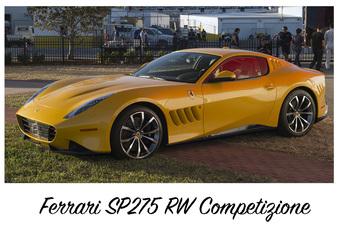 De Ferrari SP275 RW Competizione is unieke F12 #1