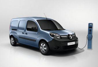 Renault Kangoo Z.E. : plus d'autonomie #1