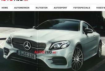 Mercedes E coupé : La voilà avant l'heure #1