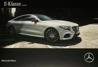Mercedes E Coupé lekt via brochure #1