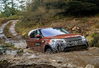 VIDEO – Notre essai offroad du prototype Land Rover Discovery #1