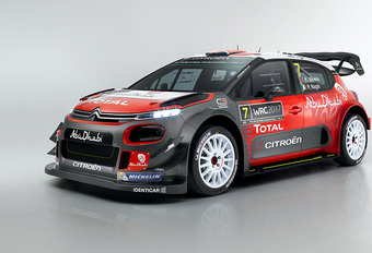 En hier is ook de Citroën Racing C3 WRC #1