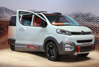 Citroën SpaceTourer : une version baroudeuse se précise...  #1