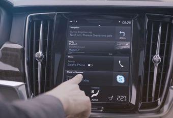 Skype aan boord van de Volvo 90-reeks #1