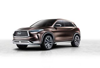 Infiniti QX50 Concept: op weg naar zelfstandig rijden #1