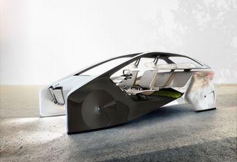 BMW i Inside Future : holographique #1