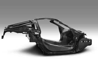 Nouveau châssis monocoque de McLaren #1