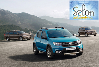 Autosalon Brussel 2017: Dacia (paleis 5) #1