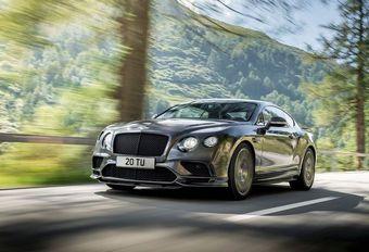 VIDÉO - Bentley Continental Supersports : plus de 700 ch #1