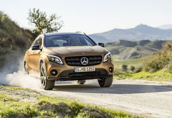 Mercedes GLA: facelift in Detroit #1