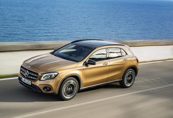 Mercedes toont in Detroit opgefriste GLA #1
