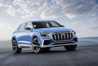 Audi Q8 Concept : précurseur du modèle définitif #1
