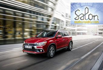 Autosalon Brussel 2017: Mitsubishi (paleis 9) #1