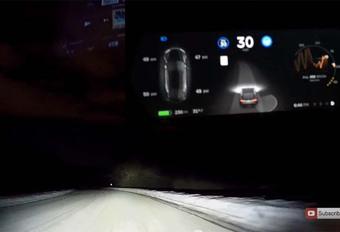 Tesla : L'Autopilot 8.0 fonctionne aussi sous la neige #1
