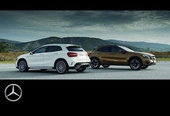 Mercedes GLA : version restylée en vidéo #1
