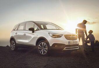 Opel Crossland X : Meriva en SUV #1