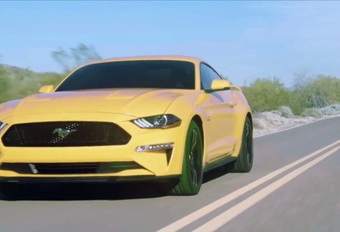 VIDEO Facelift Ford Mustang #1