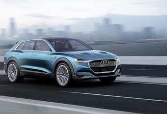Audi mise sur l'électrification en Chine #1