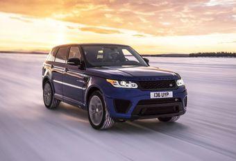 Range Rover Sport SVR : 550 ch en accélération sur tous les terrains #1