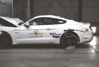 Mauvais résultat EuroNCAP pour la Ford Mustang #1