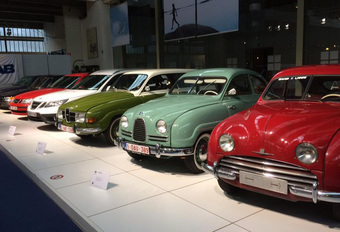 Klassieke Saabs in Autoworld Brussels #1