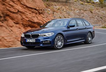 BMW Série 5 Touring : avec correcteur d'assiette #1