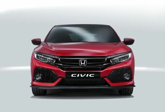 Honda : la nouvelle Civic ne fera plus de break #1