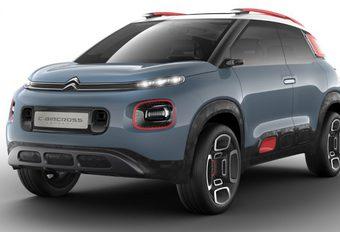 Citroën C-Aircross Concept : futur C3 Aircross #1