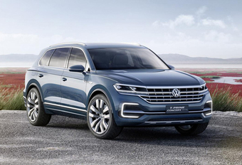 Volkswagen Touareg : colosse en approche #1