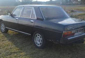 Peugeot 604 V6 van Chirac te koop #1