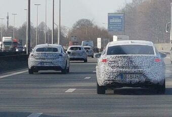 Convoi d'Opel Insignia sur le Ring de Bruxelles #1