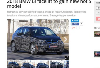 BMW i3 krijgt grote make-over in 2018 #1