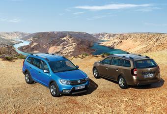 Dacia Logan MCV gaat Stepway #1