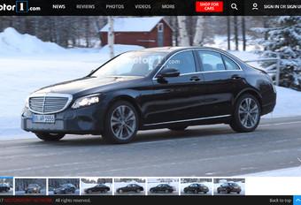 Mercedes : un lifting pour la Classe C #1