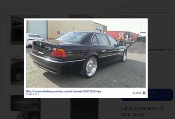 BIJZONDER: De BMW waarin Tupac werd vermoord, staat te koop #1