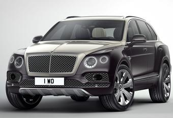 Bentley  Bentayga trekt Mulliner-jasje aan #1