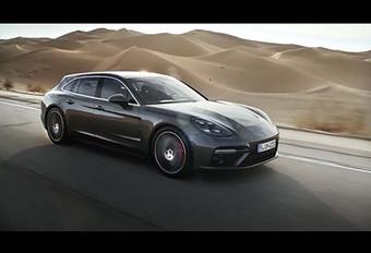 VIDÉO – Découvrez en images la nouvelle Porsche Panamera Sport Turismo #1
