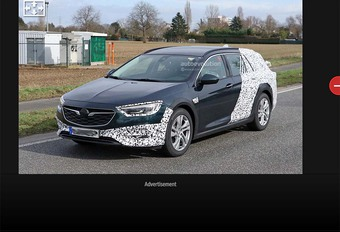 Opel Insignia Sports Tourer : Aussi en Country Tourer #1