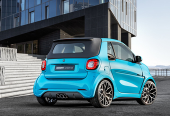 De Ferrari in de Smart Fortwo Brabus Ultimate 125 #1