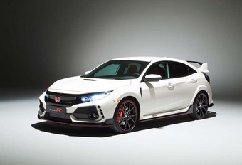 Honda Civic Type R: 10 pk extra #1