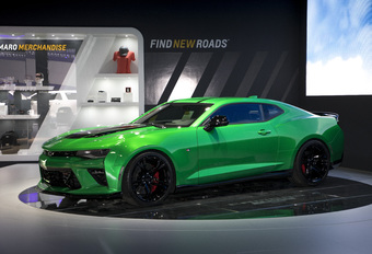 Chevrolet stookt de boel op met Camaro Track Concept #1
